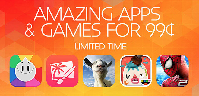 Apple Offers 99 Cent Sale Pricing On 24 IOS Apps For Limited Time