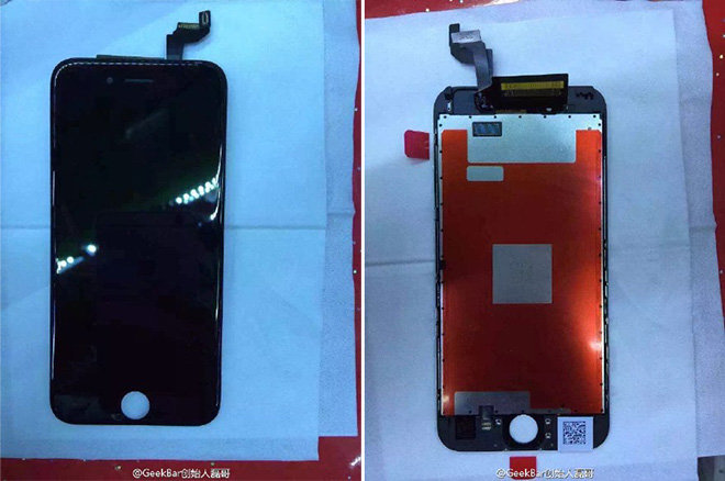 new iphone 6 s fully assembled iphone 6s display purportedly shown 15752