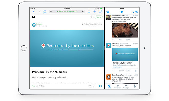 Twitter for iOS update brings iPhone experience to iPad with