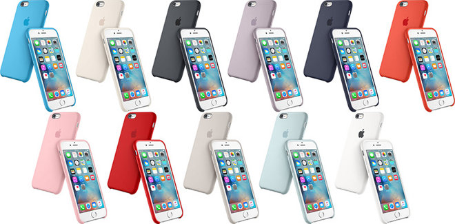 c51bfc79c10 Apple s silicone cases are slimmer than their leather counterparts and are  available in a much wider selection of colors. In all the company makes 11  ...