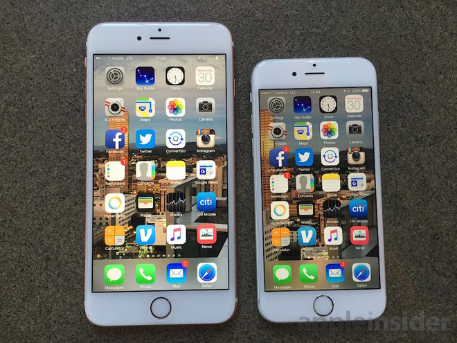 Apple iPhone 6s dan 6s Plus