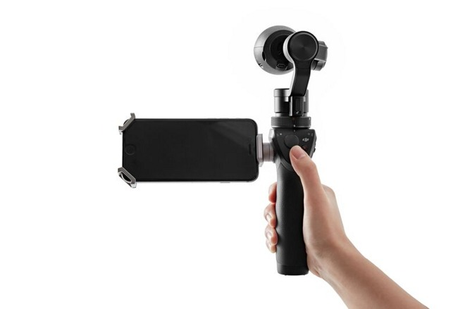 best website 03807 bab8b DJI launches Osmo, an iPhone-connected 4K steadicam for $650