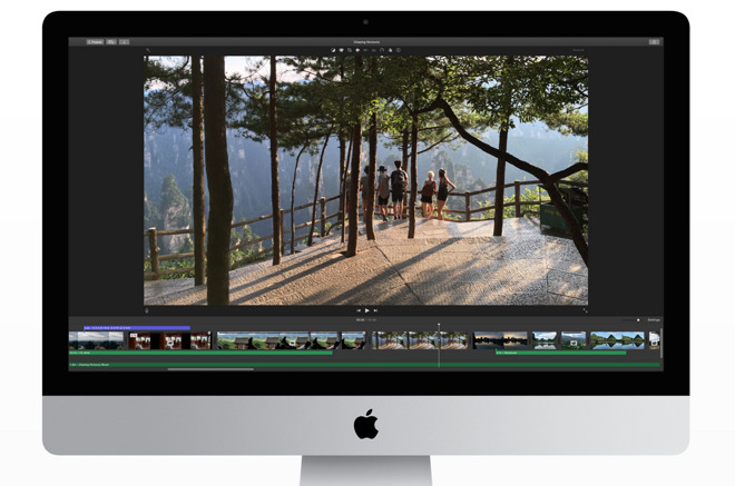 iMovie update adds support for 4K video, 1080p 60fps, importing