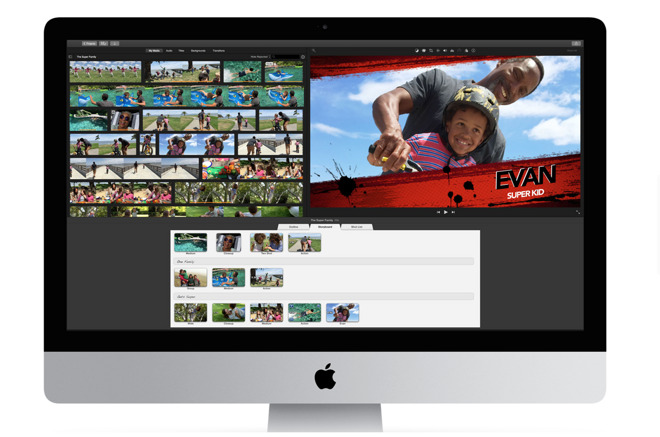 iMovie update adds support for 4K video, 1080p 60fps