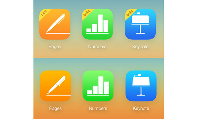 Apple takes iWork for iCloud out of beta, adds features
