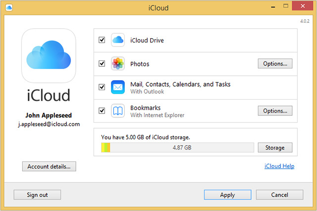 Image result for iCloud for PC