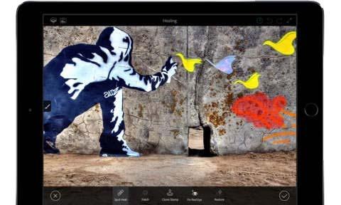 Adobe Photoshop Fix & Mix get iOS 9 multitasking, iPad Pro