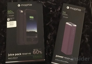 quality design a254e 0e73d Review: Mophie Juice Pack Reserve for iPhone 6/6s & Power Reserve 1X ...
