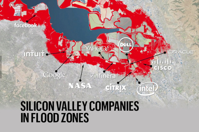 Silicon Valley cing for severe El Nino flooding; Apple ... on flood map foster city, flood map fort wayne, flood area map seattle, flood map united states, flood map texas, flood map rancho cucamonga, flood map lubbock, flood map arizona, flood map new orleans, flood map el paso,