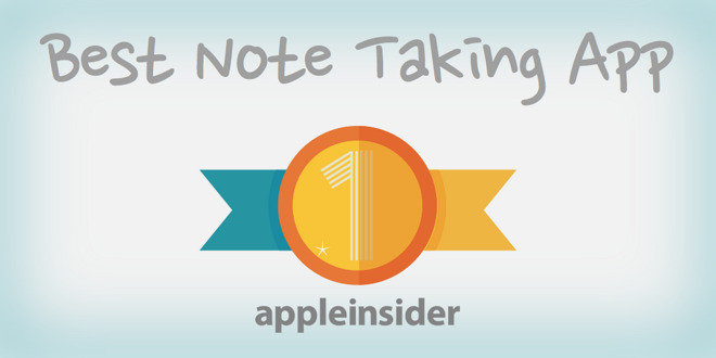 AI readers pick: The best note taking app for iOS is Apple Notes