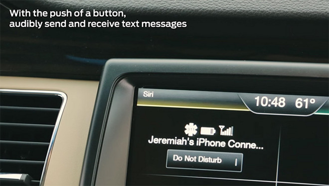 Ford Sync update brings Siri Eyes Free support to more than 5M vehicles