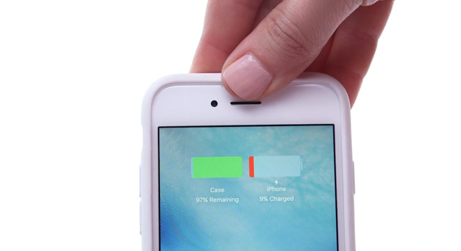 best website 5e02b 8a3e1 Apple's new Smart Battery Case displays remaining charge on lock ...