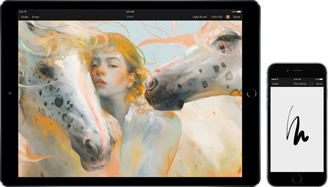 new concept af6e8 e2edf Pixelmator gains Apple Pencil, 3D Touch support in latest update