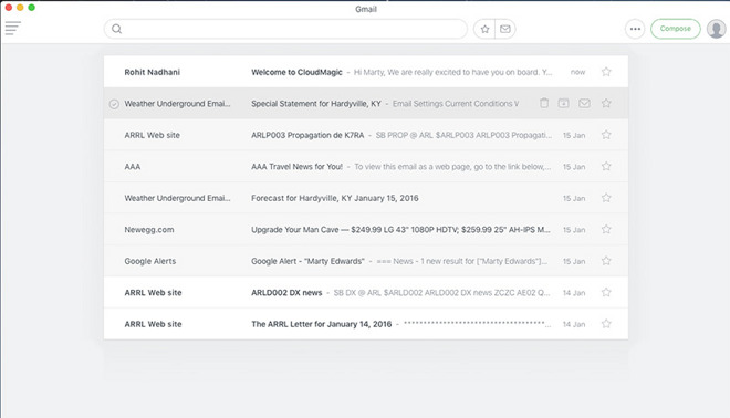 Roundup: The best Mac email clients for push Gmail