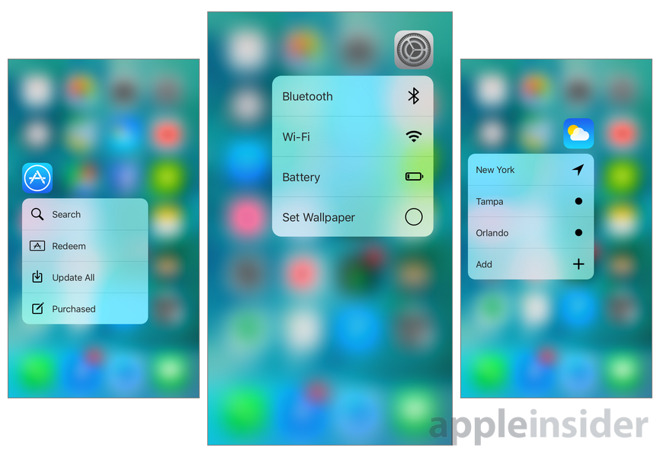 Inside iOS 9 3: Apple's native apps gain new 3D Touch shortcuts on