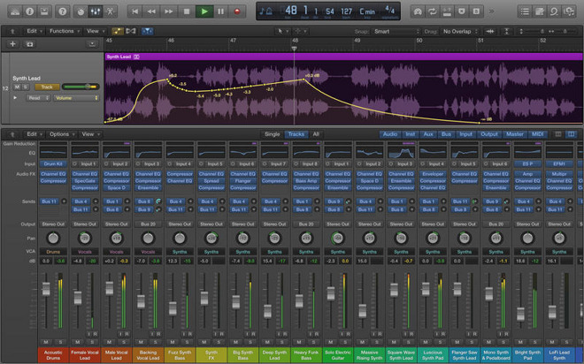 Apple updates Logic Pro X, MainStage 3 pro apps with new