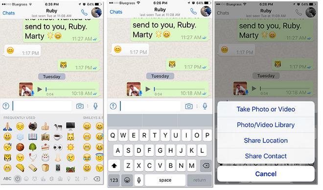 App face-off: Apple iMessage vs  WhatsApp Messenger