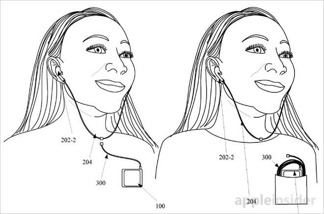 Wondrous Apple Patents Magnetically Detachable Wireless Earbuds For Iphone Wiring Cloud Funidienstapotheekhoekschewaardnl