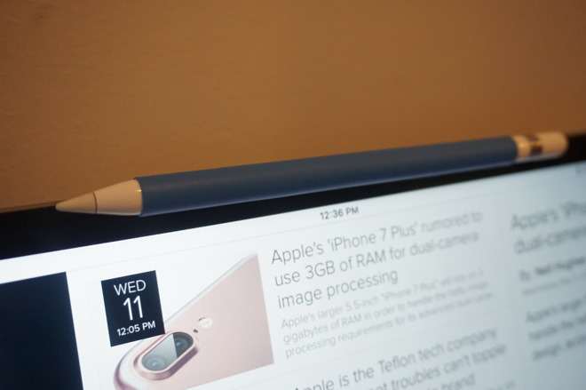 low priced 74e40 ca381 Review: Moxiware Apple Pencil Magnet is simple, affordable and ...