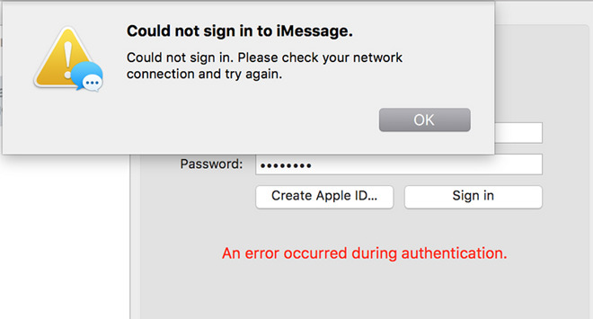 Mac owners unable to log in to Messages, FaceTime after OS X