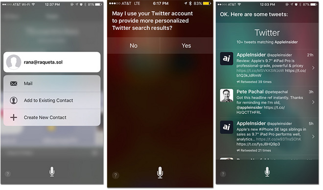 Siri security flaw on iPhone 6s & 6s Plus grants access to