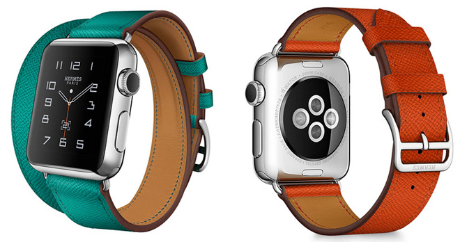 7cc70c4595a039 Apple Watch Hermes bands to be sold separately, come in 4 new colors on  April 19