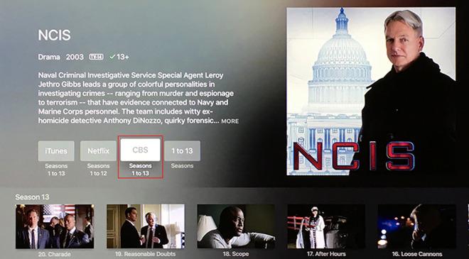 CBS tvOS app gets Apple TV universal search integration