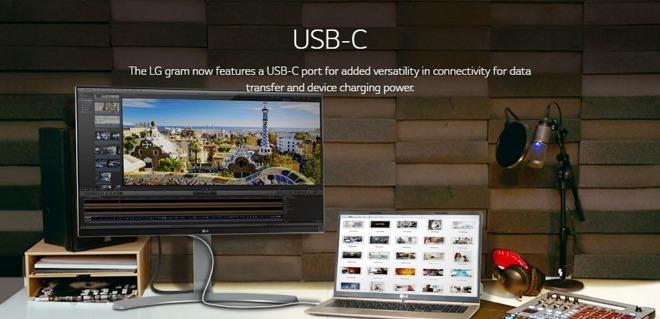 LG marketing depicts new MacBook-like Gram laptop running