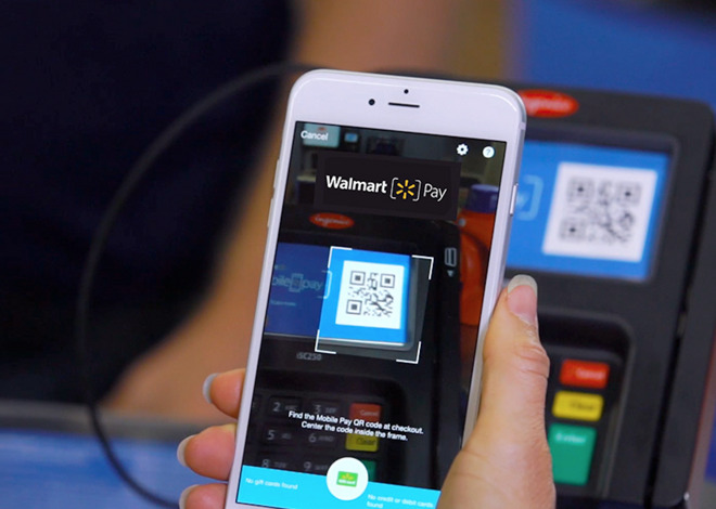 Resisting Apple Pay, Walmart pushes its own e-wallet to over 500