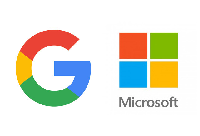 Image result for Microsoft And Google