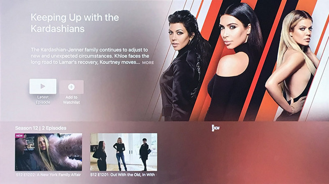 Apple TV nets Bravo, E! and Syfy content with new tvOS apps
