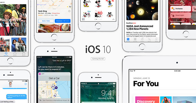 Apple restricts iOS 10 to iPhone 5, 4th-gen iPad or newer [u]