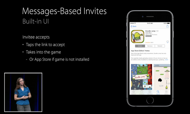 Inside iOS 10: With Game Center app gone, invites are