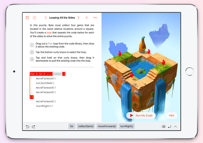 Apple's new Swift Playgrounds for iPad is a killer app for teaching code