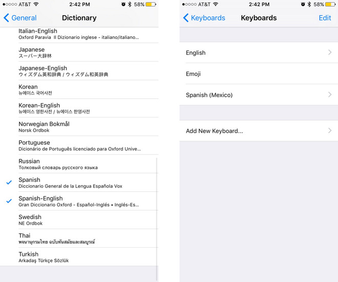 autocorrect settings iphone inside ios 10 multilingual typing eases autocorrect woes 10199