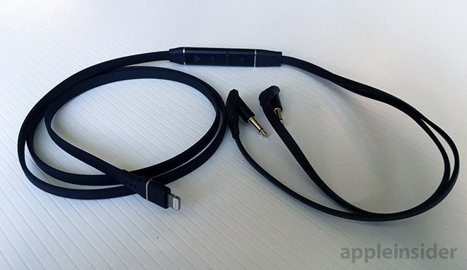 d4117384b50 Like its more expensive offerings, Audeze went with a detachable cable  arrangement for Sine, allowing users to switch between a Lightning connector  with ...
