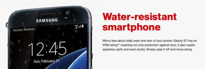 WaterproofGate: Samsung's high end Galaxy S7 fails Consumer Reports