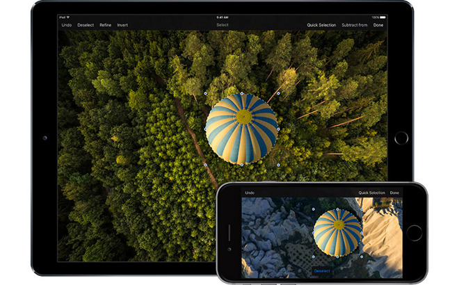 Pixelmator image editor gets powerful selection tools in iOS