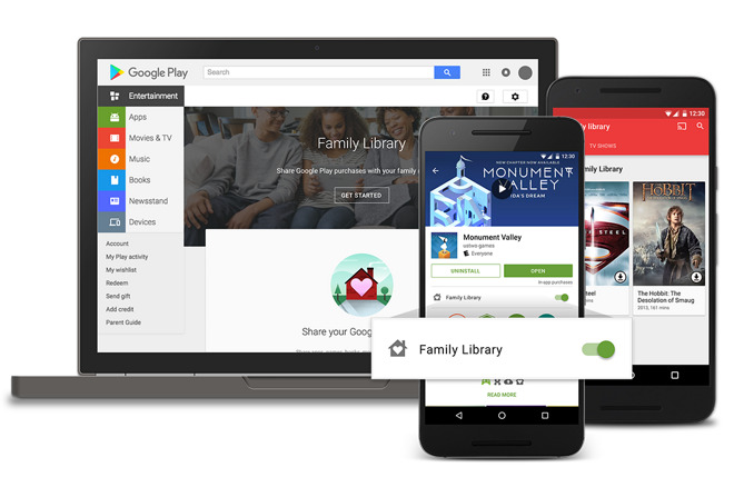 Google Play Store gets Family Library feature with limited