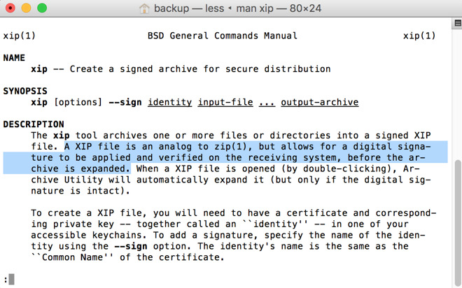 Apple Xcode 8 beta now secured with digital signatures in  xip format