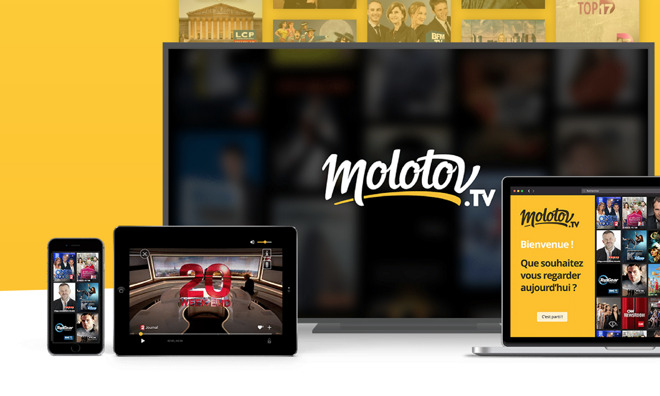 Apple TV becomes first set-top box to carry French Molotov tv video