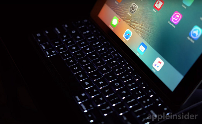 369a435eca2 Overall, Logitech's Create Backlit Keyboard Case for the 9.7-inch iPad Pro  is a fantastic product. At $129 it's $30 cheaper than Apple's Smart Keyboard  and ...