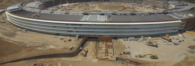 Latest Apple Campus 2 construction video highlights glass install