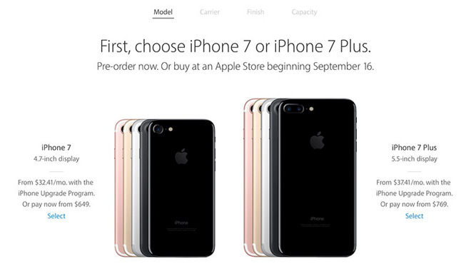 Apple's iPhone 7 and Apple Watch Series 2 now available for
