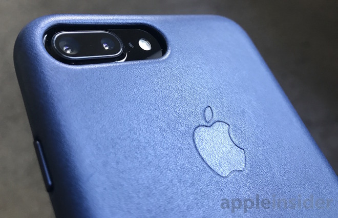 23b274a52e In addition to the Black and Midnight Blue leather cases pictured above  (the blue looks lighter here than it actually is due to the highlight),  Apple also ...