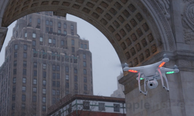 Review: DJI Phantom 2 Vision, a high-end iPhone-compatible flying