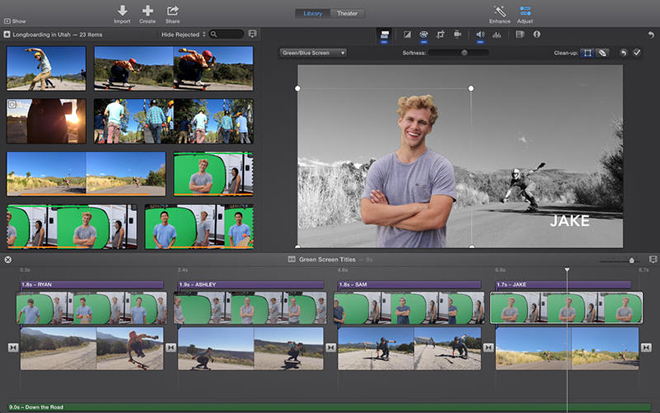 Apple's iMovie for Mac update resolves unexpected crashing problem