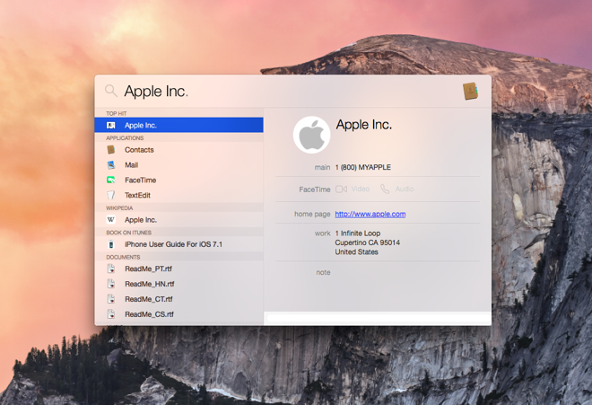 First look: Apple's new aesthetic for OS X Yosemite