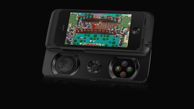 reputable site 950b2 e9a80 Razer unveils slide-out iPhone gamepad as Apple plans iOS 8 ...
