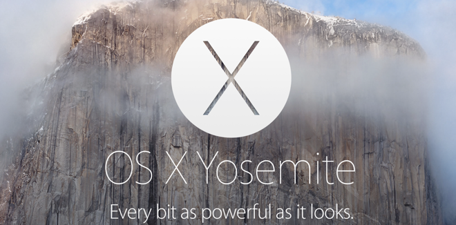 OS X Yosemite runs on same Macs as Mavericks, but iOS 8